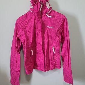 ✨Bench pink Logo Jacket Small